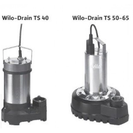 Дренажный насос WILO TS40/10 1-230-50-2-10M KA.