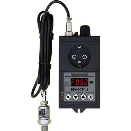 Акваконтроль ЭБУН-СТ-1,5 электронные блоки управления и защиты насосов
