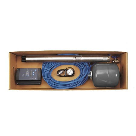 Комплект для поддержания постоянного давления с насосом Grundfos SQЕ 2-70