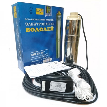 Скважинный насос Водолей БЦПЭУ 0,5-16-У