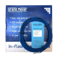 1140 Вт / Двужильный нагревательный кабель Grand Meyer THC20-57