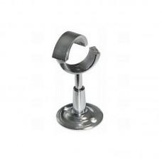 """Крепление телескопическое со скрытым разборное с кольцом для полотенцксушителей  Ø 1"""""""